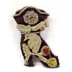 Antique Iroquois Beaded Shoe Pillow/Pin Cushion
