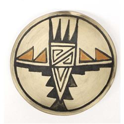 Historic Native American Pottery Shallow Bowl