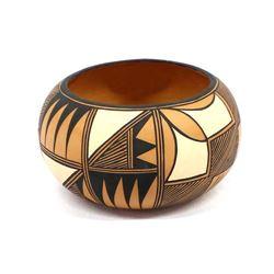 Laguna Pottery Bowl by L. Romero