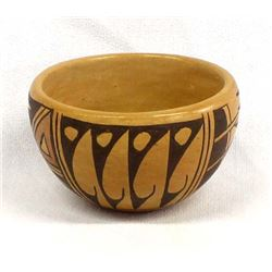 Vintage Hopi Pottery Bowl by Clarice M.