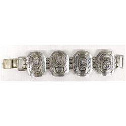 Mexican 980 Silver Bracelet