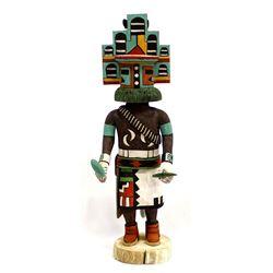 Hopi Hemis Kachina by Elmer Adams