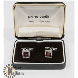 10K WHITE GOLD WITH LARGE REAL RUBY AND DIAMOND