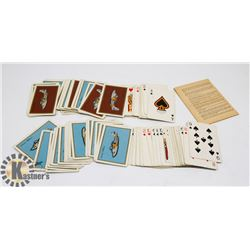 VINTAGE AVIATION PLAYING CARDS.