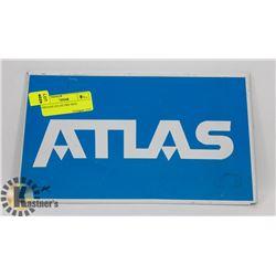 VINTAGE ATLAS TIRE SIGN.