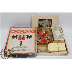 COLLECTIBLE 1936 MONOPOLY GAME