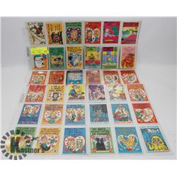 2 SHEETS OF 1960'S LOONEY ADS