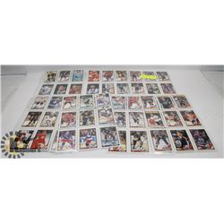 7 SHEETS OF O-PEE-CHEE HOCKEY CARDS