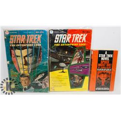 VINTAGE STAR TREK COMICS & BOOK,