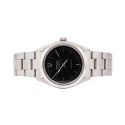 Rolex Mens Air-King Stainless Steel Wristwatch