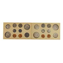 1954-P/D U.S. Double Mint Set