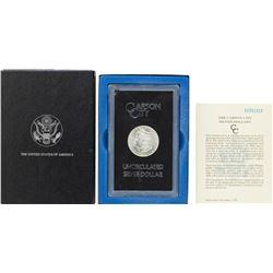 1883-CC $1 Morgan Silver Dollar Coin GSA Hoard Uncirculated w/ Box & COA
