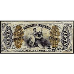 March 3, 1863 Third Issue Fifty Cent Fractional Currency Note
