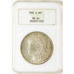 1902-O $1 Morgan Silver Dollar Coin NGC MS64