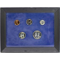 1959 (5) Coin Proof Set in Frame