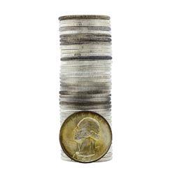 Roll of (40) Brilliant Uncirculated 1949-D Washington Quarter Coins