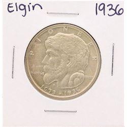 1936 Elgin Commemorative Half Dollar Coin