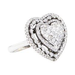 18KT White Gold 1.61 ctw Diamond Ring