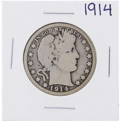 1914 Barber Half Dollar Coin