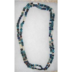 Lewis and Clark era trade beads, double strand
