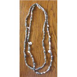 Pre-Columbian era trade beads, double strand