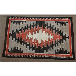 """Navajo blanket, Ganado style, 35"""" x 54"""""""