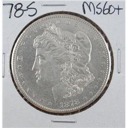 1878-S Morgan dollar, MS 60