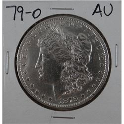 1879-O Morgan dollar, AU