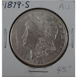 1879-S Morgan dollar, AU