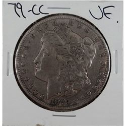 1879-CC Morgan dollar, VF