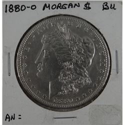 1880-O Morgan dollar, AU