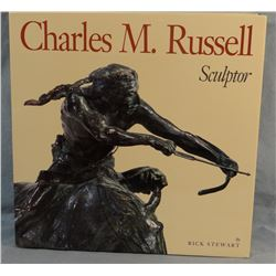 Stewart, Rick, Charles M. Russell Sculptor Book, 1994, 1st, like new