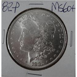 1882-P Morgan dollar, MS 60