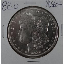1882-O Morgan dollar, MS 60