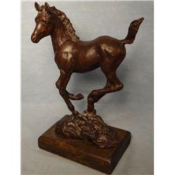 """Dwyer, Anna sculpture, Filly, 2/25, 6.5"""" t x 4.5"""" l x 2.5"""" w"""