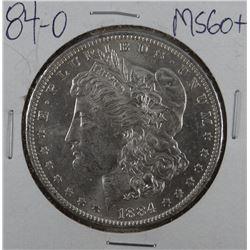 1884-O Morgan dollar, MS 60