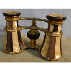 """Opera glasses, Mother of Pearl, 7"""", 1890's"""