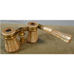 Lemaire opera glasses, Mother of Pearl, 1890's