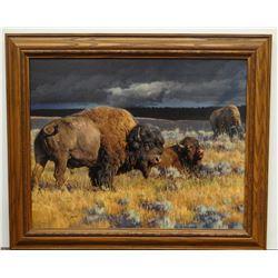 Glazier, Nancy, Restless, Canvas Print, 56/195,
