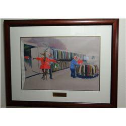 "Leedy, Jeff, original pastel, 16"" x 22"", 1999"
