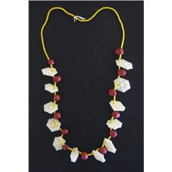 Chumash handmade stone & shell beads, Channel Islands, CA