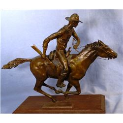 Winchester Time bronze sculpture by Joseph