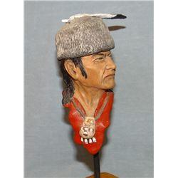 """Southland, Bob, The Native, 5"""" h, resin sculpture"""