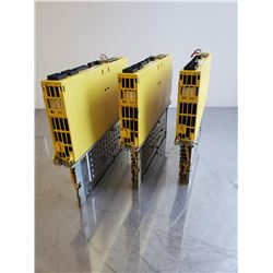 (3) Fanuc A06B-6093-H153 Servo Amplifier Unit
