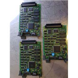 (3) Fanuc A20B-8001-0730-05C Ethernet Board