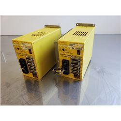 (2) Fanuc A06B-6093-H152 Servo Amplifier Unit