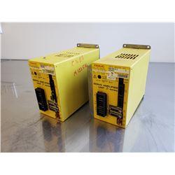 (2) Fanuc A06B-6093-H112 Servo Amplifier Unit
