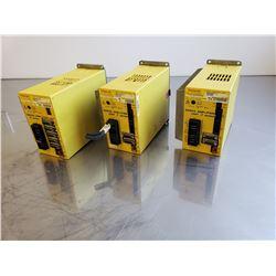 (3) Fanuc A06B-6093-H152 & A06B-6093-H112 Servo Amplifier Unit