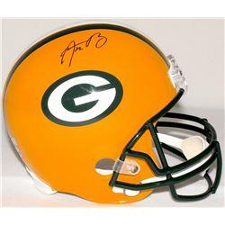 Aaron Rodgers Signed Packers Full-Size Helmet (Radtke COA  Fanatics Hologram)