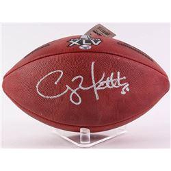"""Clay Matthews Signed """"The Duke"""" NFL Super Bowl XLV Official Game Ball (Radtke COA)"""